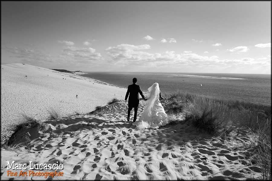 photo mariage paysage dune du pyla