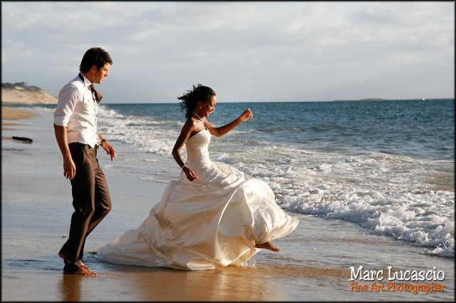 day after photo mariage ocean