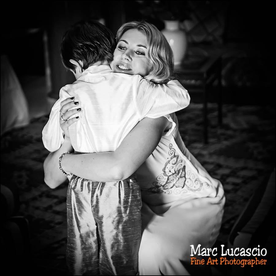 La mariée et le garçon d'honneur à Marrakech