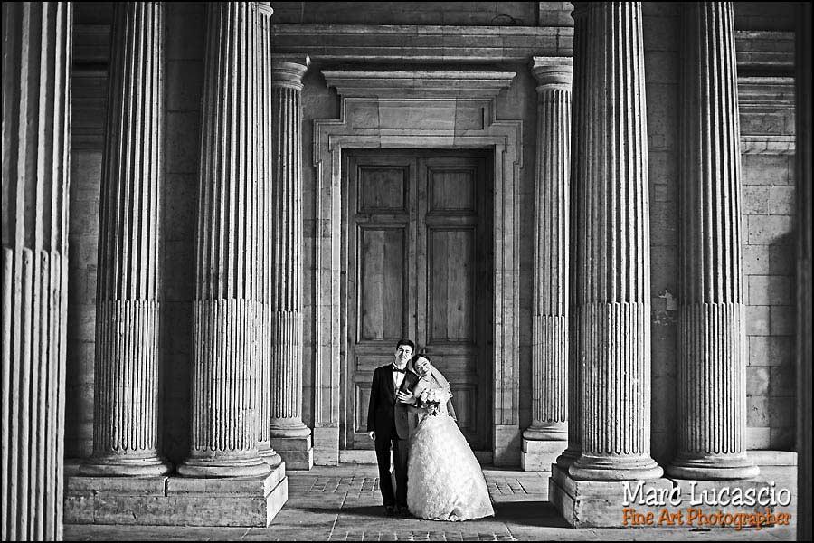 paris photo couple noir et blanc