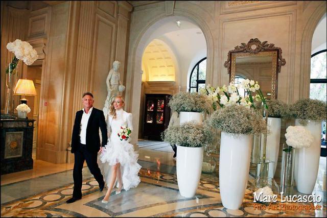 Le hall du George V à Paris