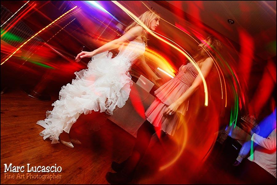 effet de lumière première danse