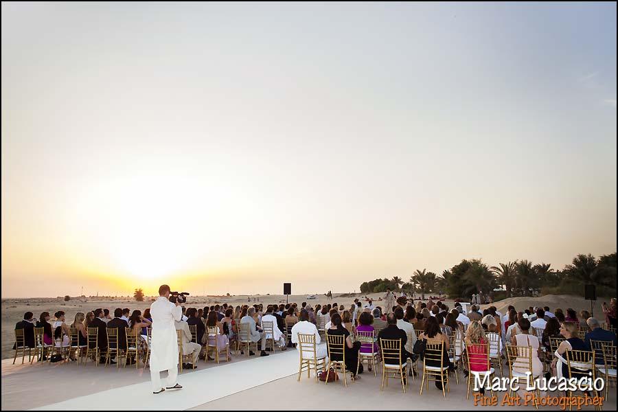 mariage désert dubai Bab al Shams