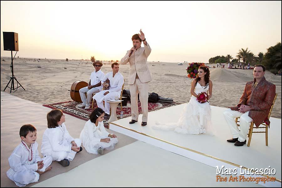 Bab al Shams cérémonie en plein desert