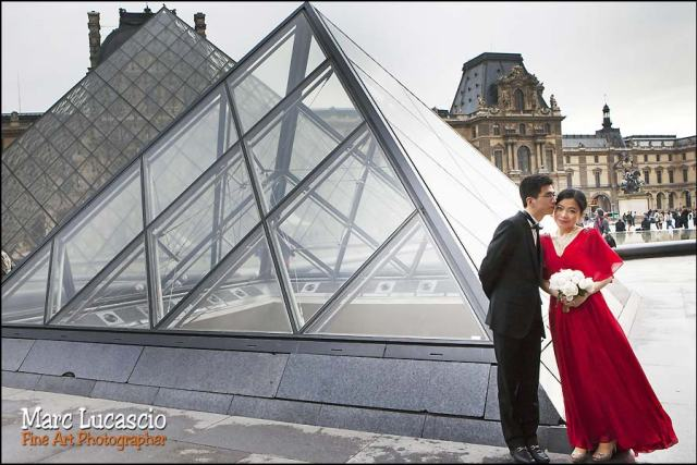 image mariage musee du louvre