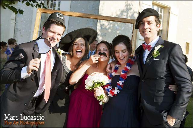 mariage saint emilion photo booth
