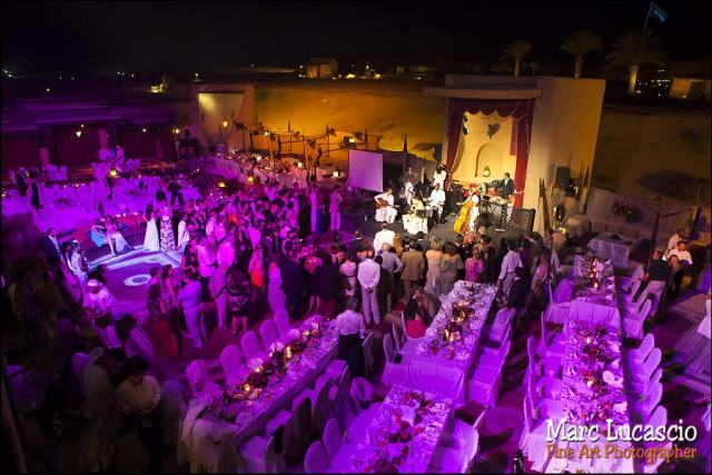 Bab al Shams soirée mariage
