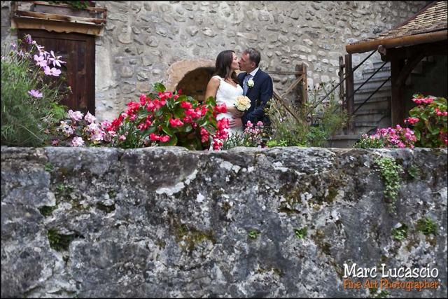 couple mariage château de chillon
