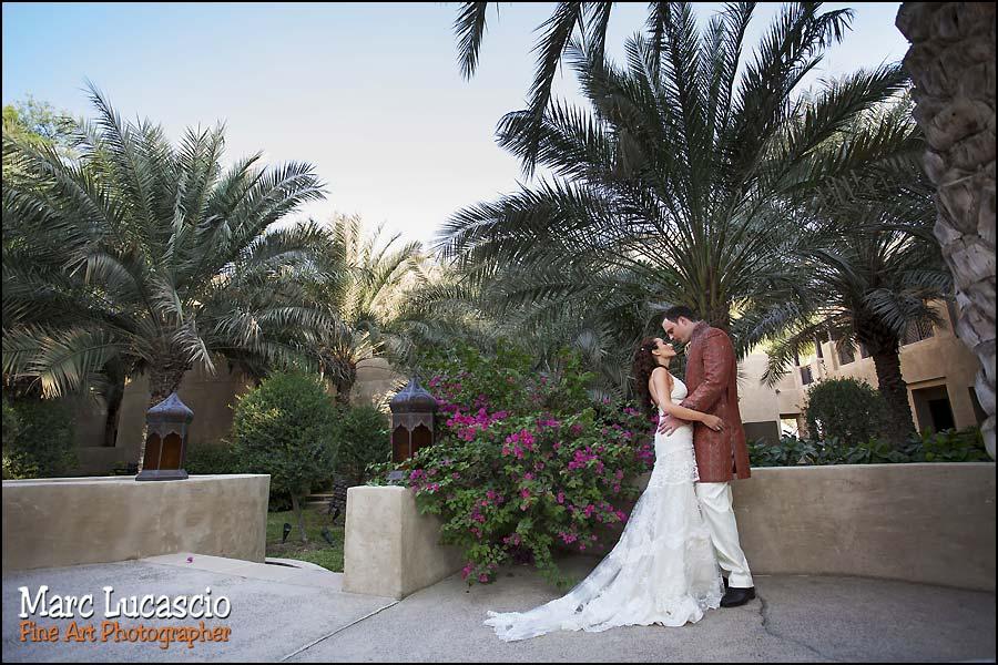 bab al shams couple de mariés