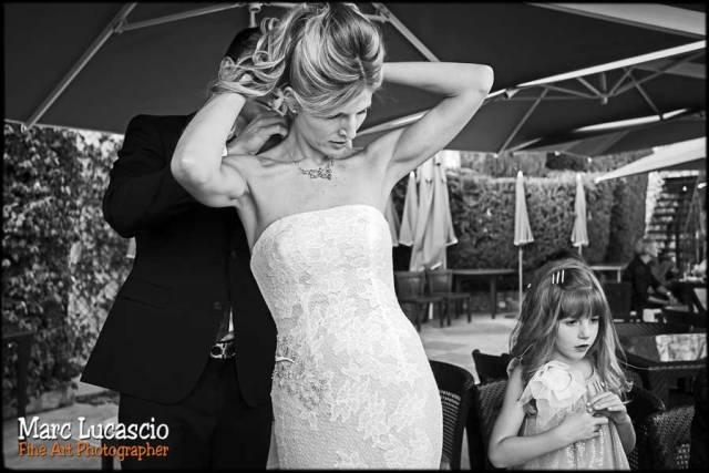 photo mariage coiffure eze