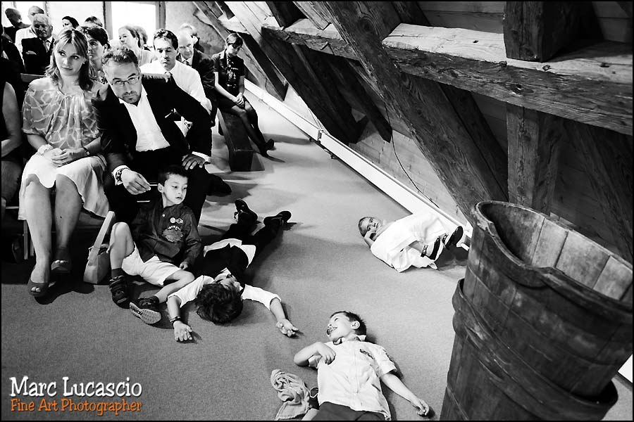 photo mariage cully enfants