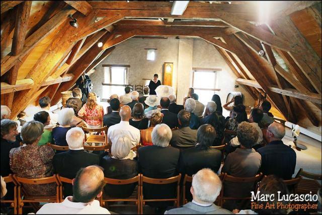 photo mariage cully maison jaune