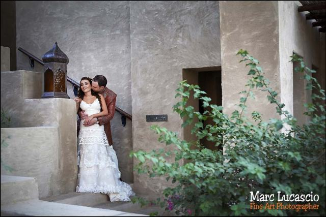 Bab al Shams shooting photo mariage