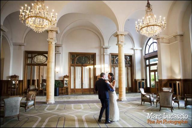 mariage fairmont le montreux palace premiere danse