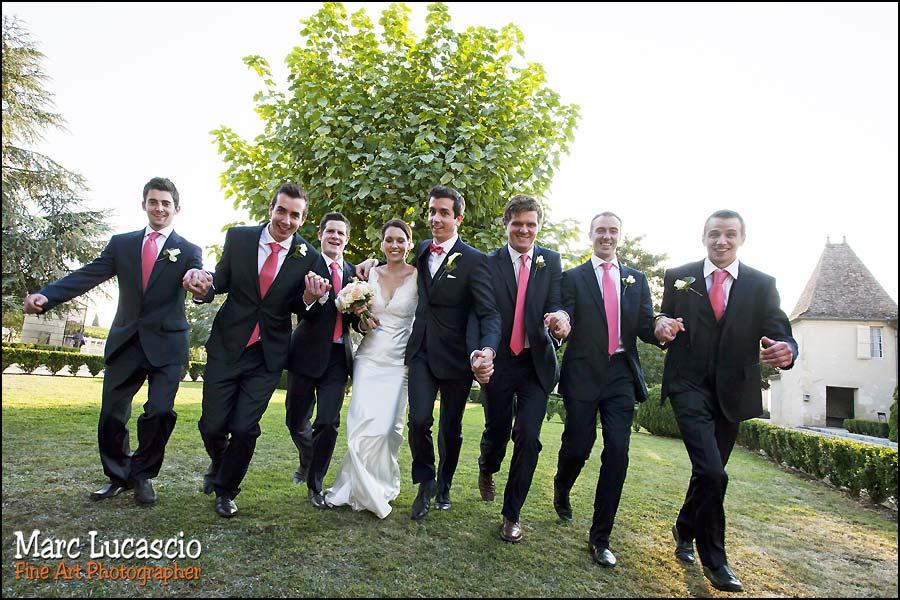 photo mariage groupe saint emilion