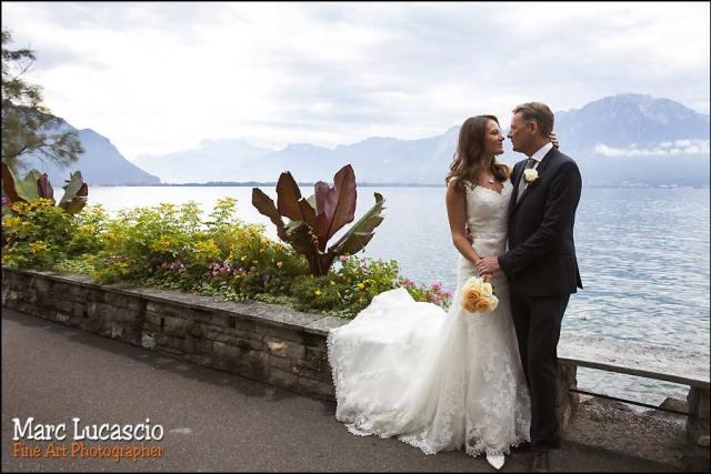 mariage Montreux couple couleur