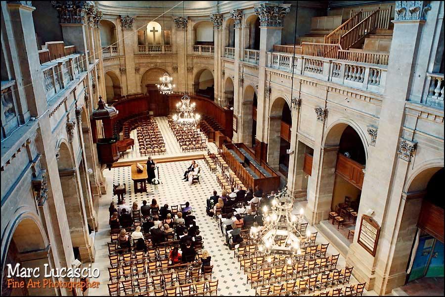 Temple protestant, l'oratoire du Louvre à Paris