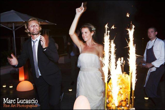 gâteau mariage soirée mariage Abu dhabi monte carlo beach
