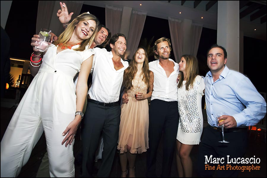 groupe soirée soirée mariage monte carlo beach