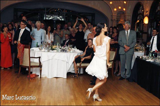 photographe mariage Montreux petit palais première danse