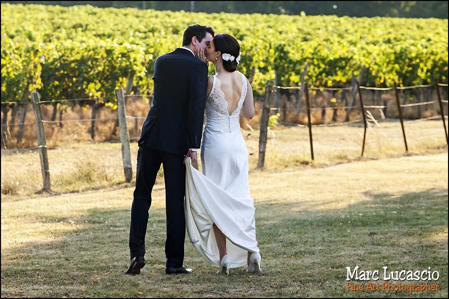 photographe mariage saint emilion vignes