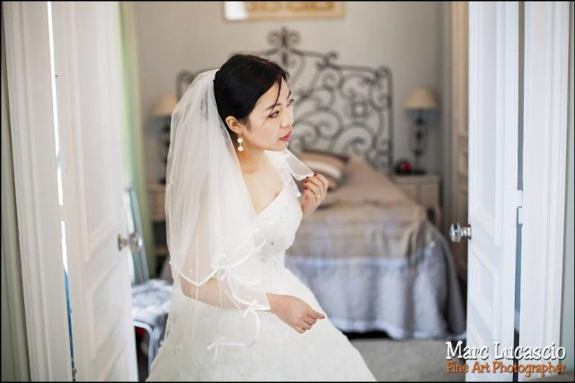 changement robe de mariage Paris
