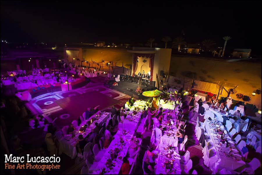 Bab al Shams repas mariage