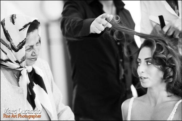 Mariage à Burj Khalifa coiffure mariée
