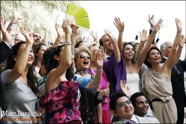 Dubai photo de groupe mariage