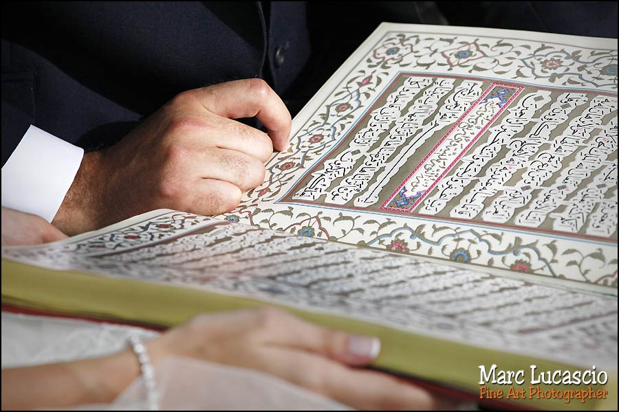 Mariage musulman lecture coran
