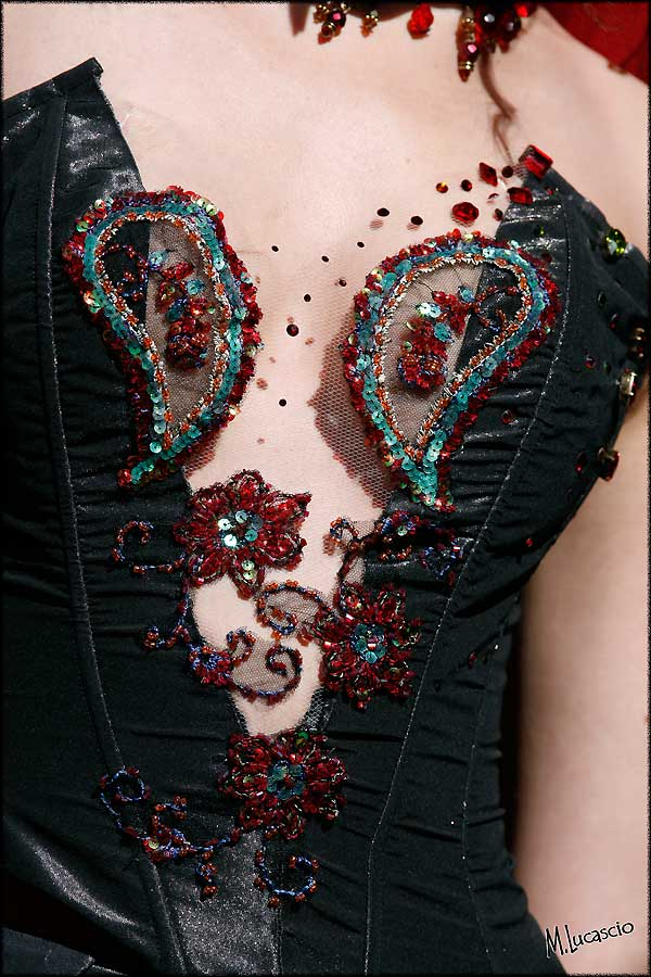 photo de mode bustier mariage