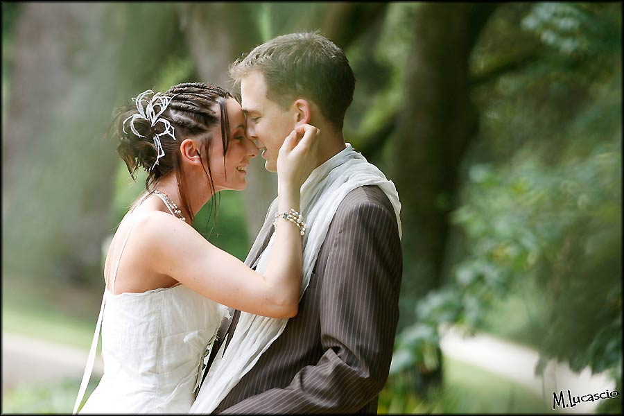 Photographe de mariage photo de couple