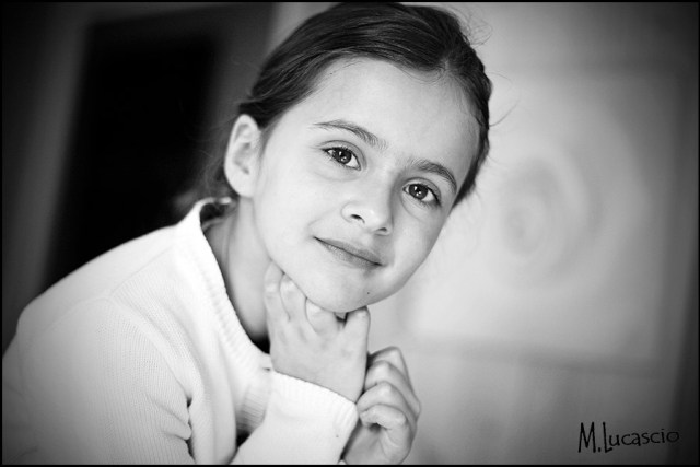 photo portrait enfant originale