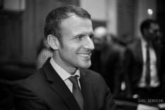 Photographe portrait corporate Paris, Emmanuel Macron