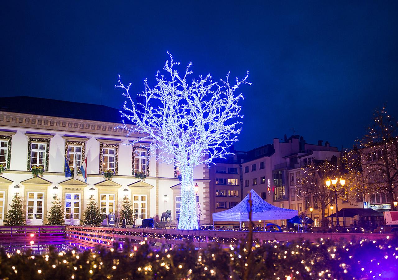 Winterlights 2016 Luxembourg - Christmas lights