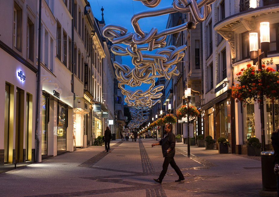 rue philippe II luxembourg city