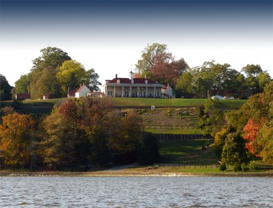 Mt. Vernon viewed from the Potomac River