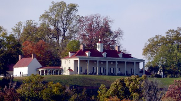 Mt. Vernon viewed from the Potomac
