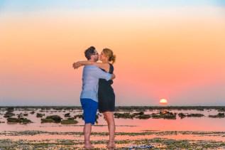 Honeymoon photo session at naiyang beach phuket