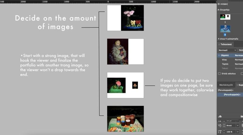 photography portfolio layout