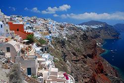 Oia, Santorin i- Greece