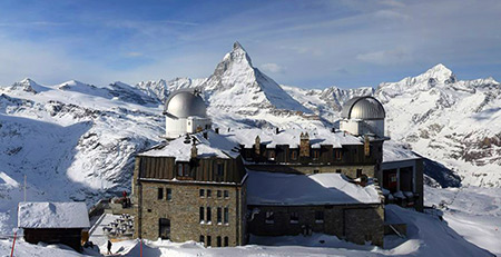 Stellarium and Kulmhotel, Gornergrat