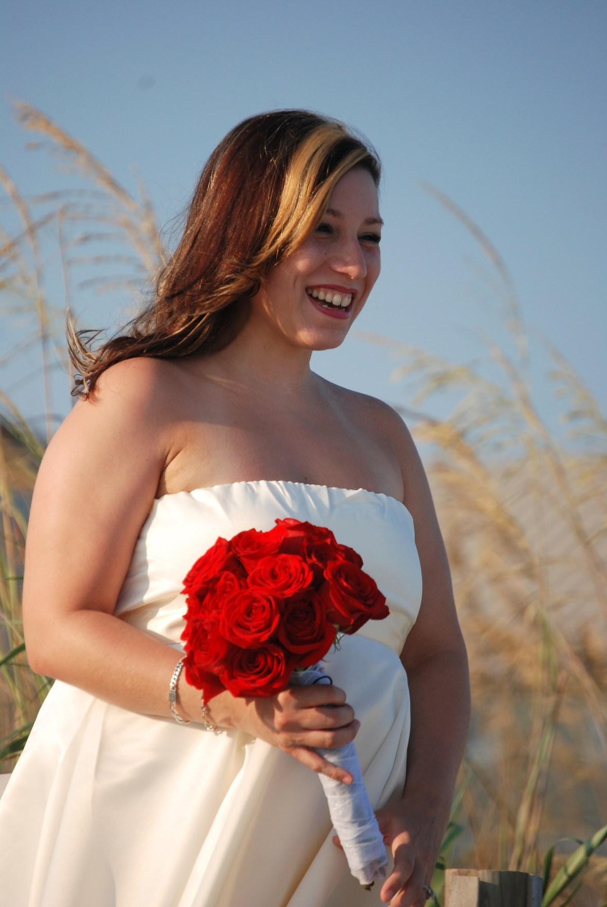 Bride in Myrtle Beach