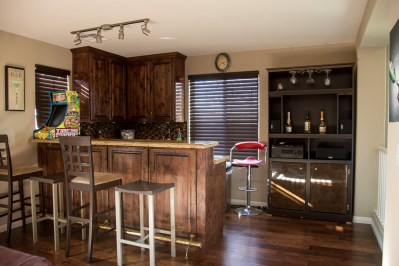 Photographers of Las Vegas - Architectural Photography - bar inside house