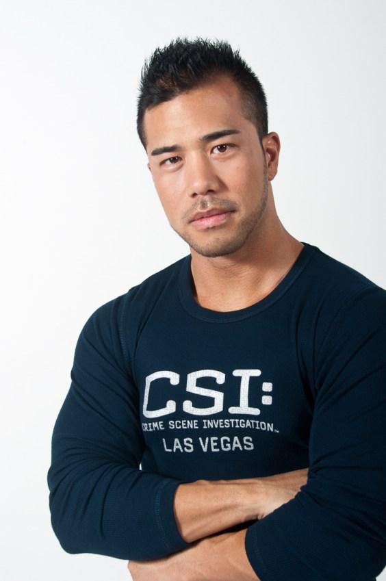 Photographers of Las Vegas - Product Photography - long sleeve shirt studio with model