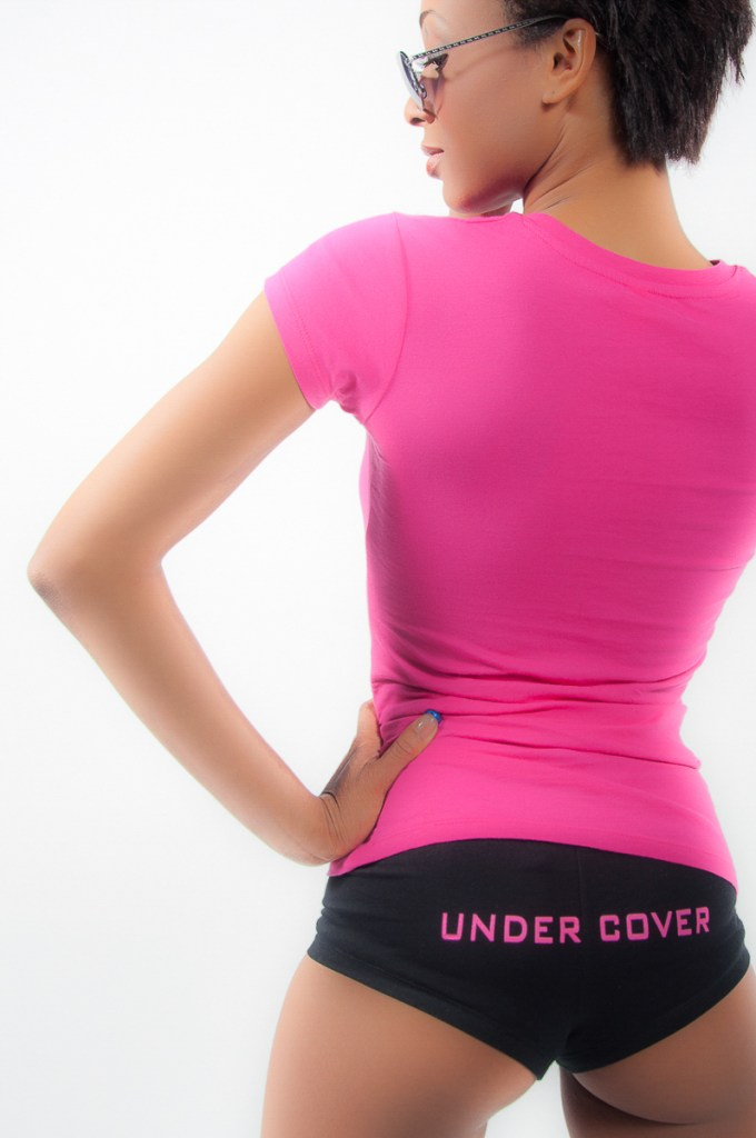 Photographers of Las Vegas - product photography - undercover underwear in studio with model