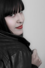 Photographers of Las Vegas - Portrait Photography - girl with leather coat