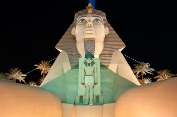 Photographers of Las Vegas - Architectural Photography - luxor sphinx