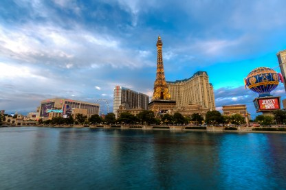 Photographers of Las Vegas - Architectural Photography - daytime paris water