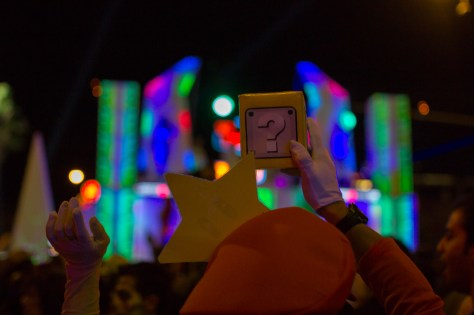 Photographers of Las Vegas - Event Photography - Mario star and random box at concert